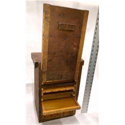 Wood Box, 10-sliding drawer Cabinet  [131284]