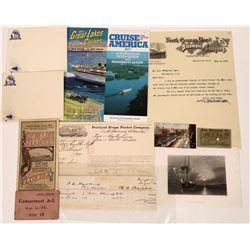 Cruise/Steamship Ephemera  [128423]