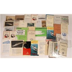 Cunard Steam Ship Line Collection  [128296]