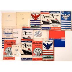 United States Lines Travel Brochure Collection  [128420]