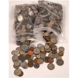 Foreign Coin Lot  [123504]