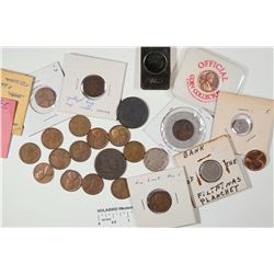 Dealer Lot of Large Cent and Lincoln Pennies  [128506]