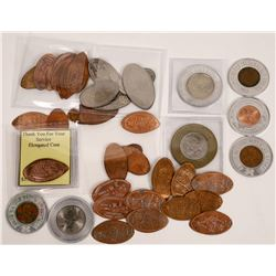 Elongated & Encased Coin Collection  [129141]