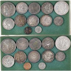 Faux U.S. Type Coins (12)  [129531]