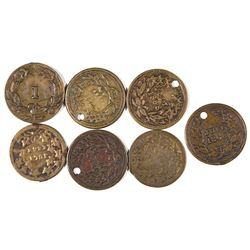 $1 Indian Head Counters  [128476]