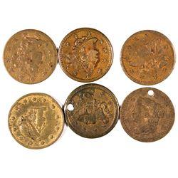 $1 Liberty Head Counters  [128475]