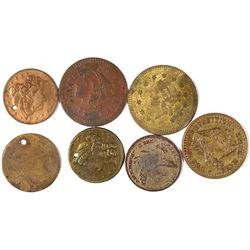 $1 Liberty Head Counters  [128478]