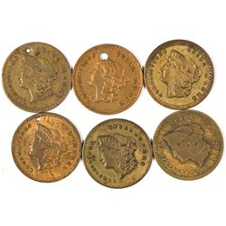 $1 Liberty Head Counters  [128479]