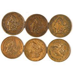 $1 Liberty Head Counters  [128480]