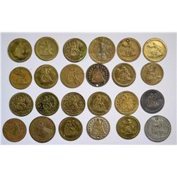 $1 Seated Liberty Counter Collection  [120151]