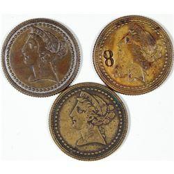 $2 1/2  Liberty Spiel Markes  [128464]