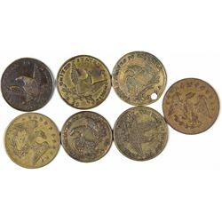 $2 1/2 Eagle Counters  [128461]