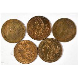 $2 1/2 Liberty Counters   [128483]