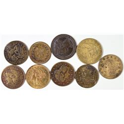 $2 1/2 Liberty Counters Collection  [128469]
