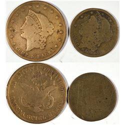 $10 & $20 U.S. Counter Pocket Pieces  [128503]