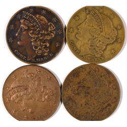 $10 Liberty Head Counters  [128496]