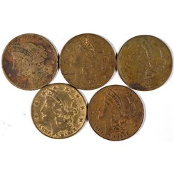 $10 Liberty Head Counters  [128498]