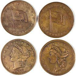 $20 California Counters 1852 Variety  [128470]