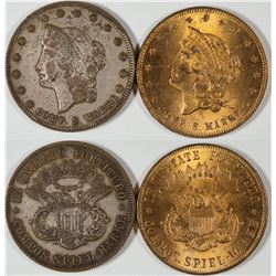 $20 Liberty Head Counters  [128493]