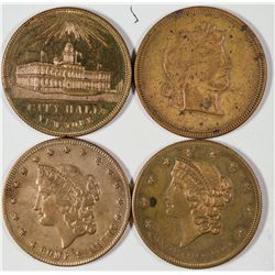 $20 Liberty Head Counters  [128494]