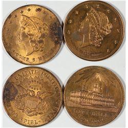 $20 Liberty Head Counters  [128499]