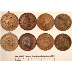 Four Different U.S. $20 Counters  [128280]