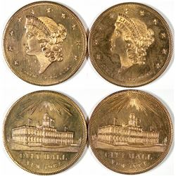 Uncirculated $20 Liberty Head Counters  [128508]