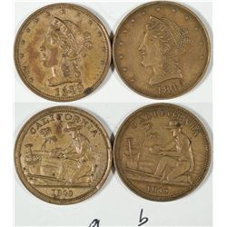 California Counters Dated 1849  [128472]