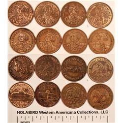 George Washington $5  Counter Varieties  [122362]
