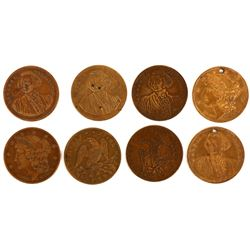 George Washington Spiel Markes $10 Eagle Sized  [124745]