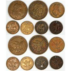 Argentina Gold Coin Counter Collection  [122842]
