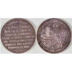 60th Anniversary Cobalt Canada Silver Medal  [129259]