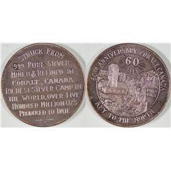 60th Anniversary Cobalt Canada Silver Medal  [129259]