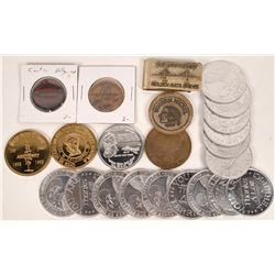 California Tokens and Medals  [128276]