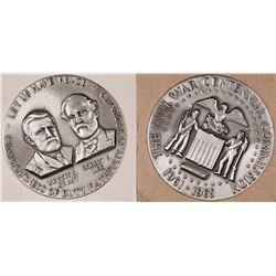 Civil War Centennial Silver Medallion  [129117]