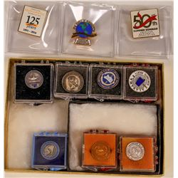 Coin Club Commemorative Pins  [129240]