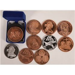 Early American Coppers Medal Collection  [129140]