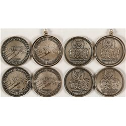 Four Riverside National Cemetery Coins/Pendant  [80205]