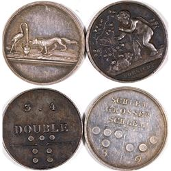 German Pictorial Whist Tokens  [122352]
