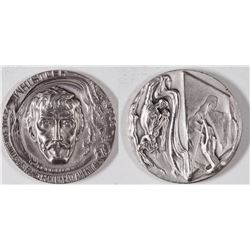 Hall of Fame For Great Americans Silver Medal: Whistler  [129120]