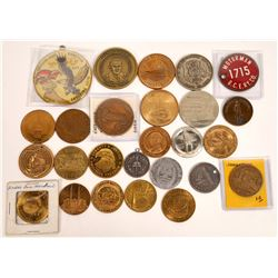 Military & Worlds Fair Token Collection  [129133]
