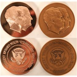 Nixon/Agnew Inauguration Medals (2)  [101728]