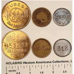 Numbered Tokens  [122346]