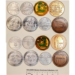 Railroad Medal Collection  [122334]
