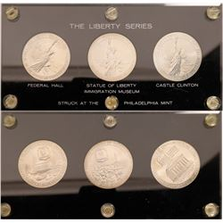 U.S. Mint Issued Silver Medals: The Liberty Series  [129109]