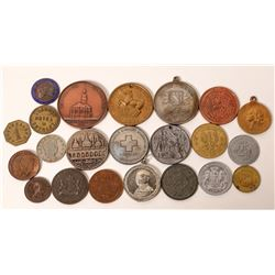 Foreign Tokens, Medals & Coins (22)  [129540]
