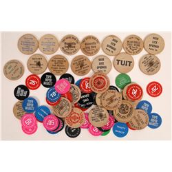Trinity County Wood and other Tokens, Unsorted  (X-Lerch)  [131376]