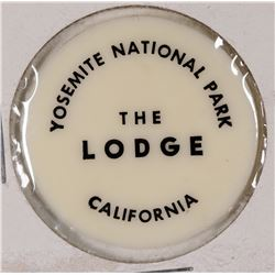 Yosemite National Park, The Lodge plastic Token (X-Lerch)  [131379]