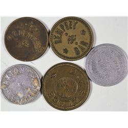 Carson City Token Collection  [128408]