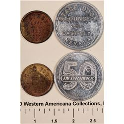 East Ely Tokens  [128335]